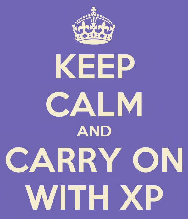 keep calm with XP